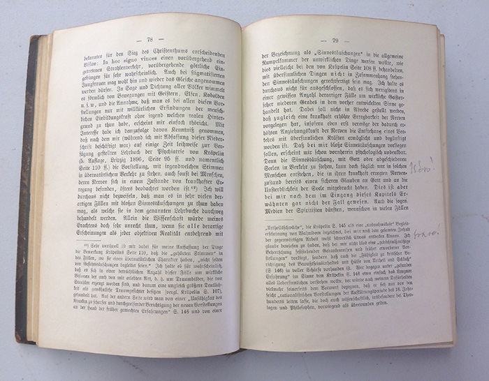 Schreber's Memoirs