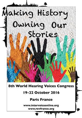 World Hearing Voices Congress, Paris, 2016 Poster